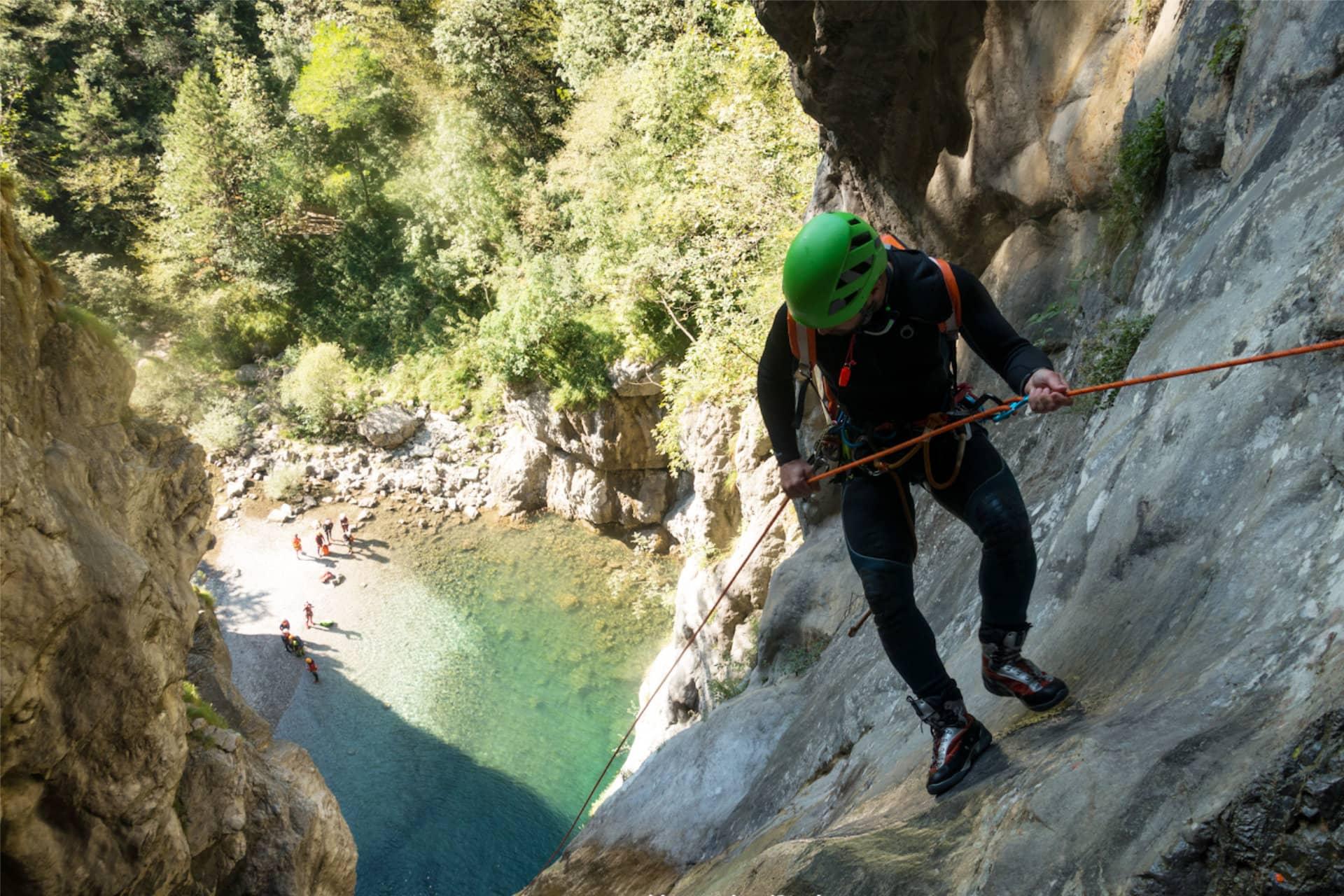 Canyoning Gardasee Sport-Piraten