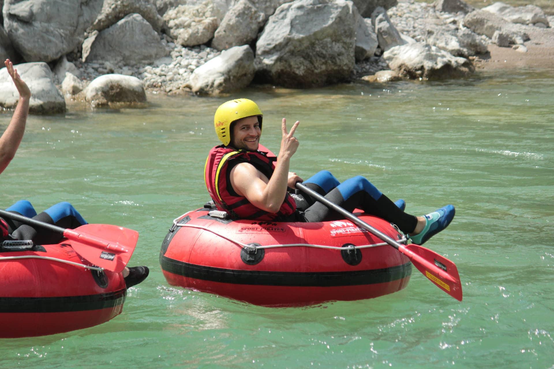 JGA Tubing Isar - Lenggries - Bad Tölz