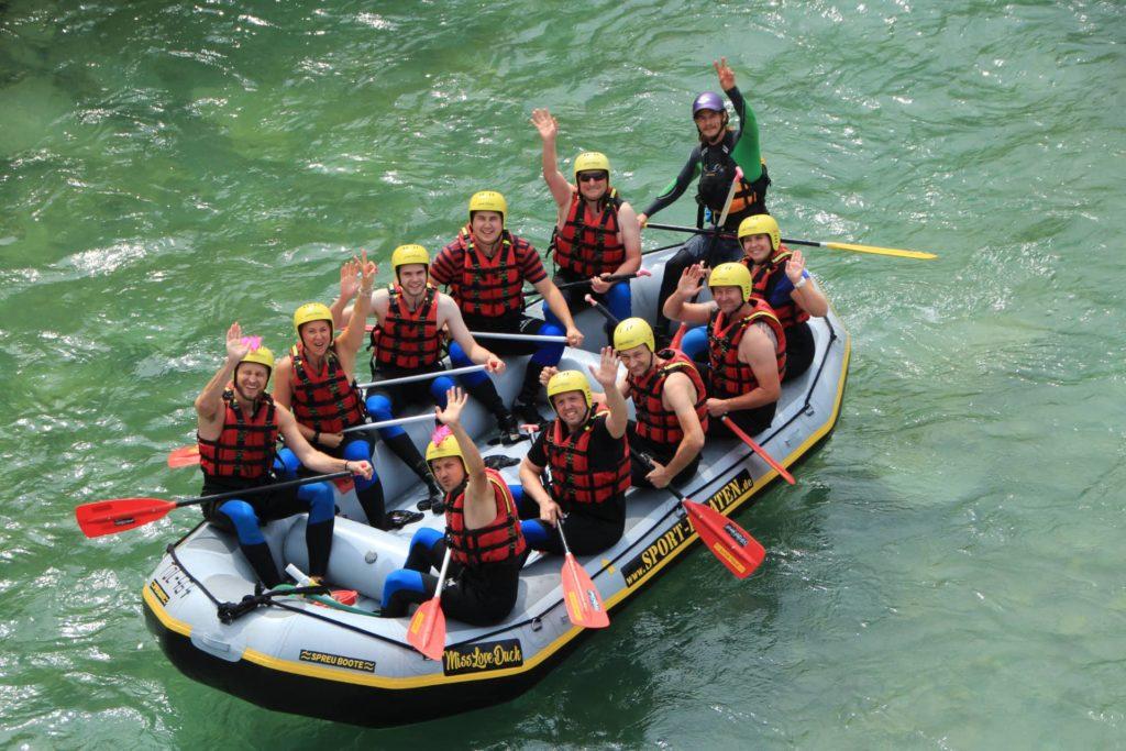 Rafting Bayern Lenggries