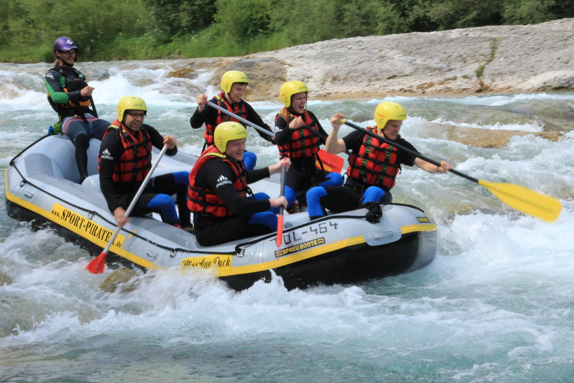 Isar Rafting Bayern Lenggries