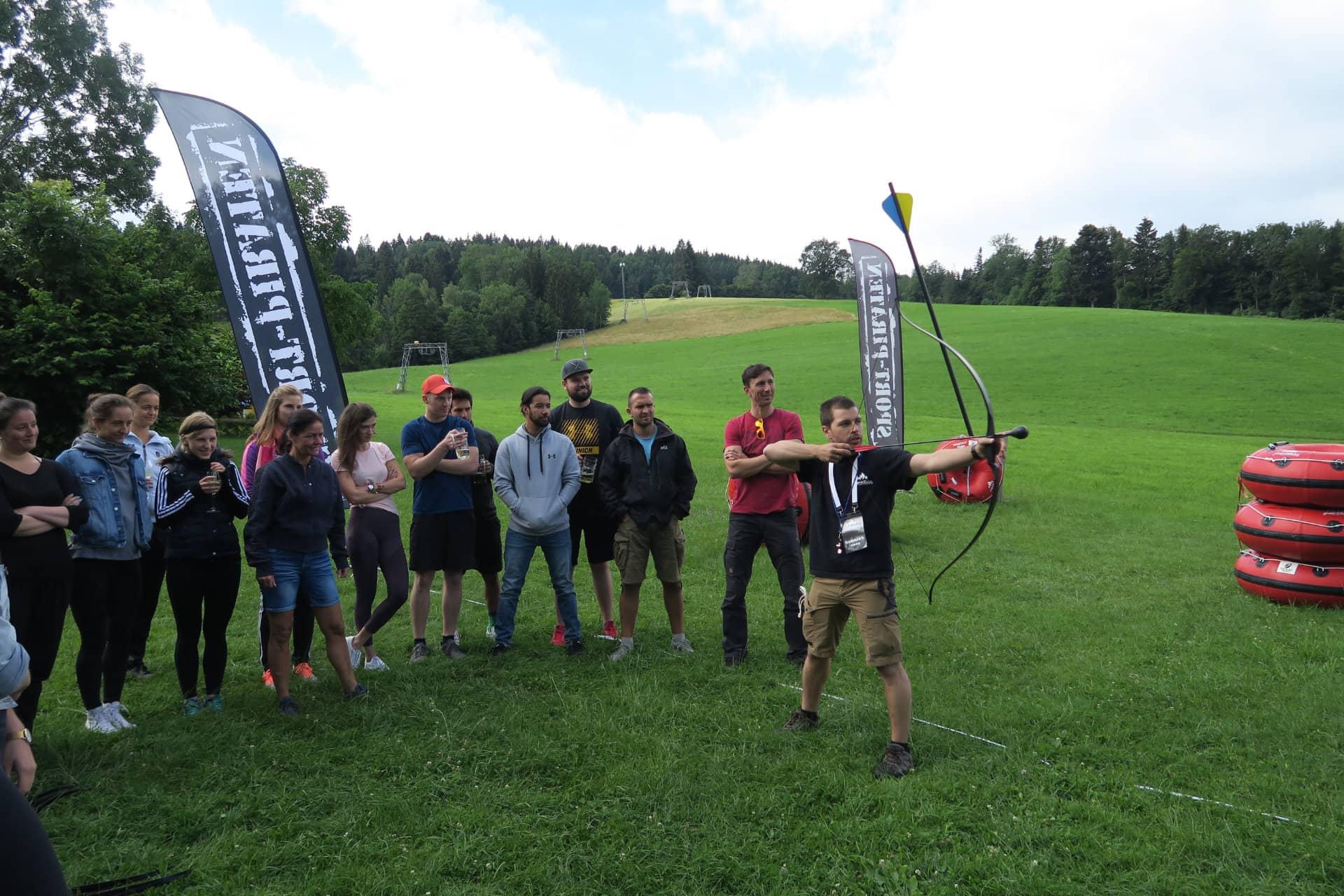 Firmenevent Team Hunt Challenge München