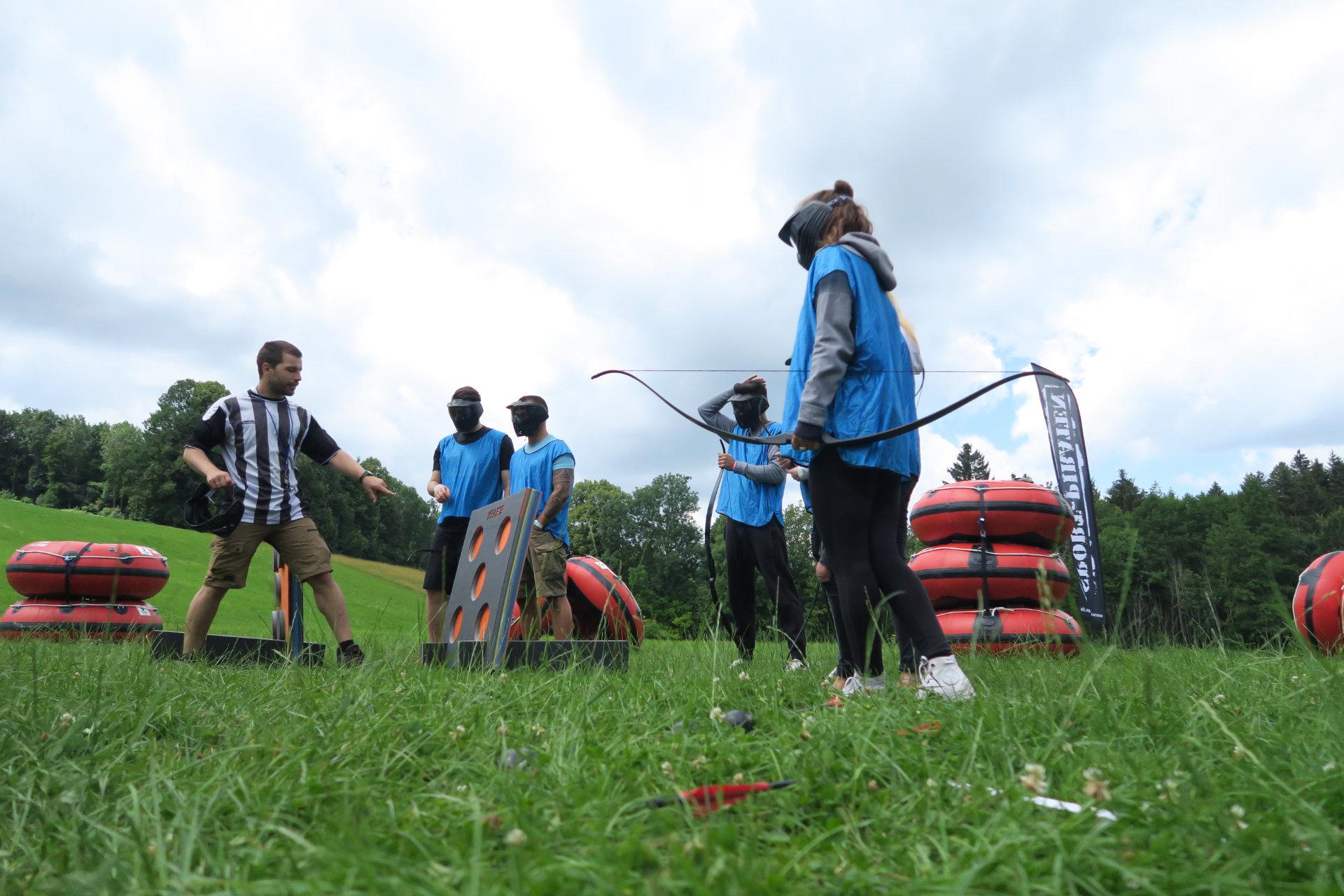 Firmenevent Team Hunt Challenge Stuttgart