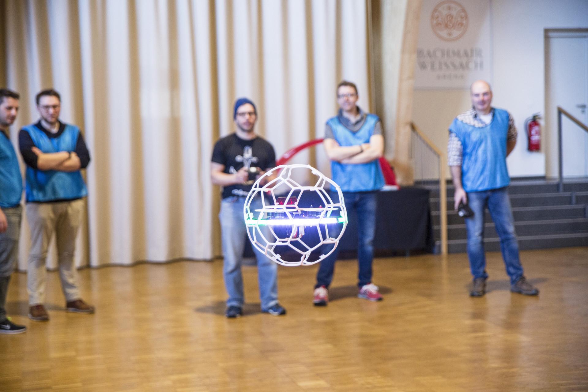 Teamevent Droneball Stuttgart