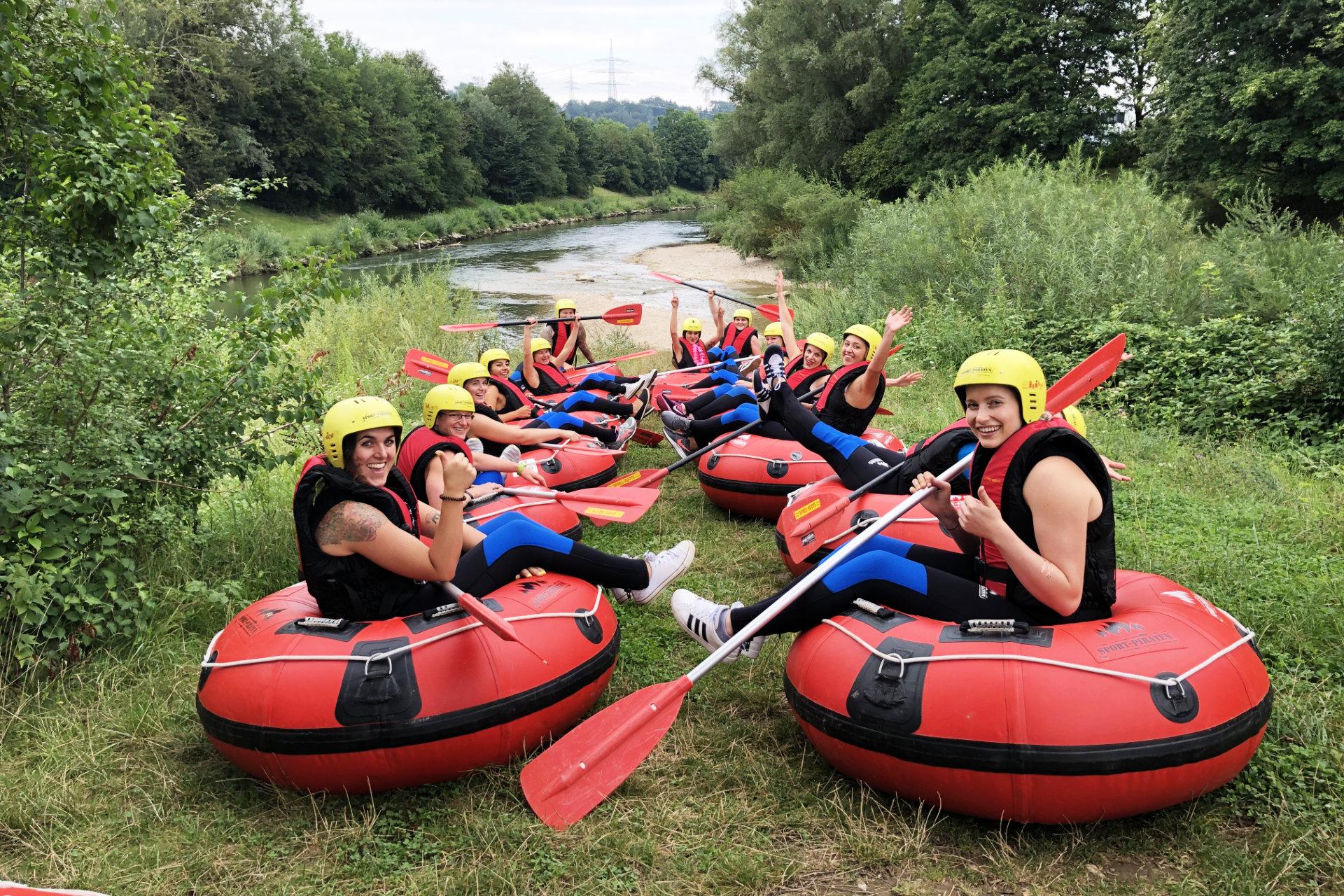 Teamevent Tubing Neckar