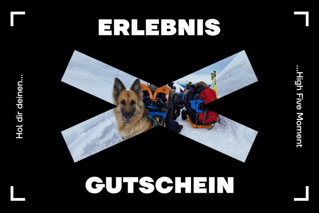 Schneeschuhtour Gutschein - Familien Schneeschuhwanderung