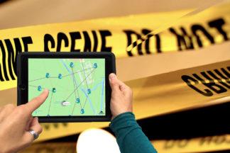 iPad Rallye Crime
